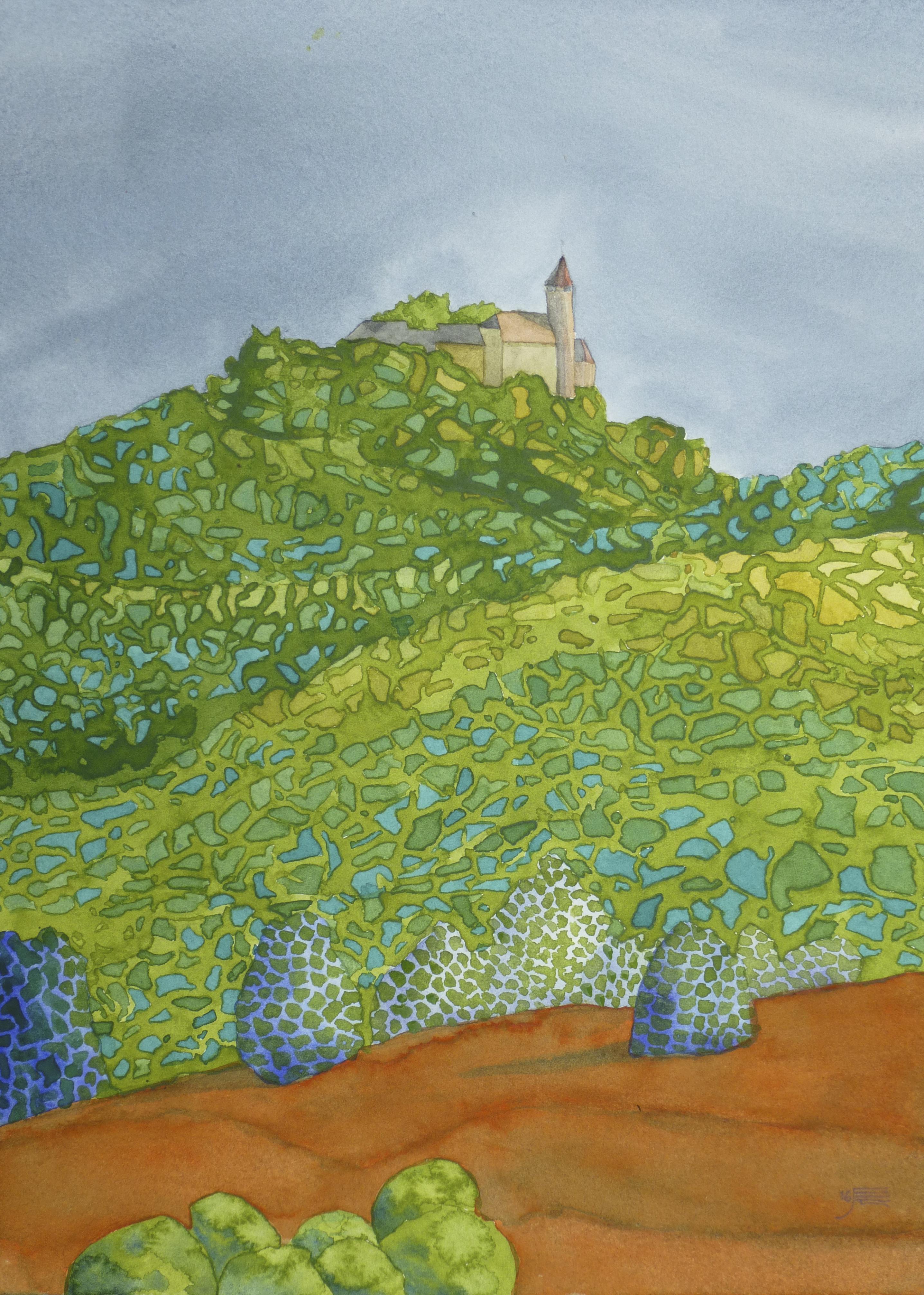 Teck von Nabern, 2016, Aquarell, 23 x 31 cm